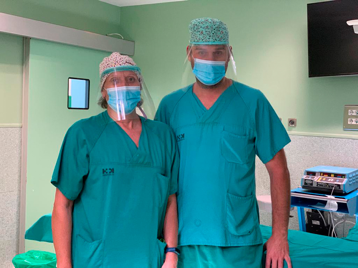 Pantallas Clinic Hospital Torrelodones HM 2 - Pantalla protección multiusos