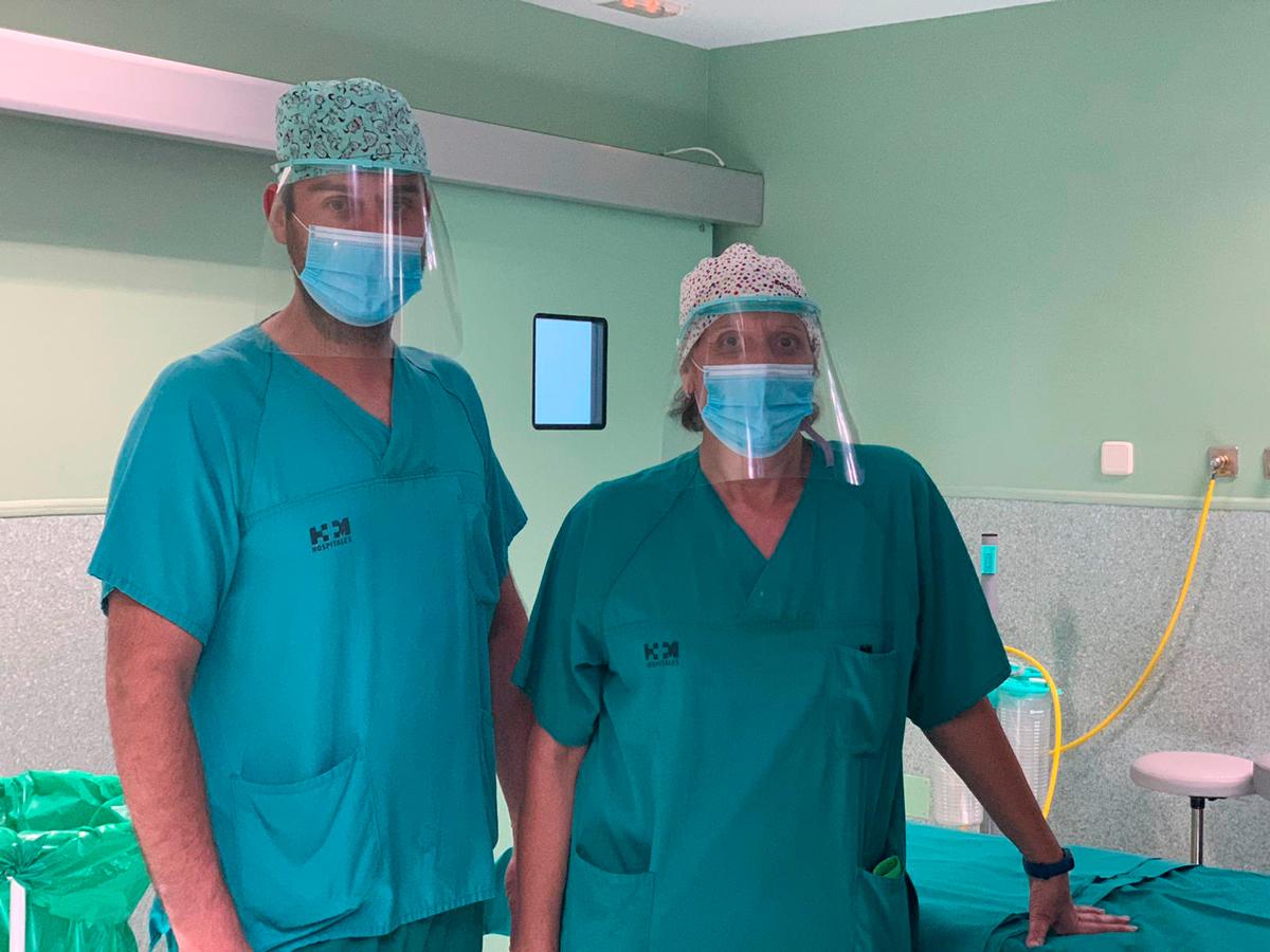 Pantallas Clinic Hospital Torrelodones HM 3 - Pantalla protección multiusos