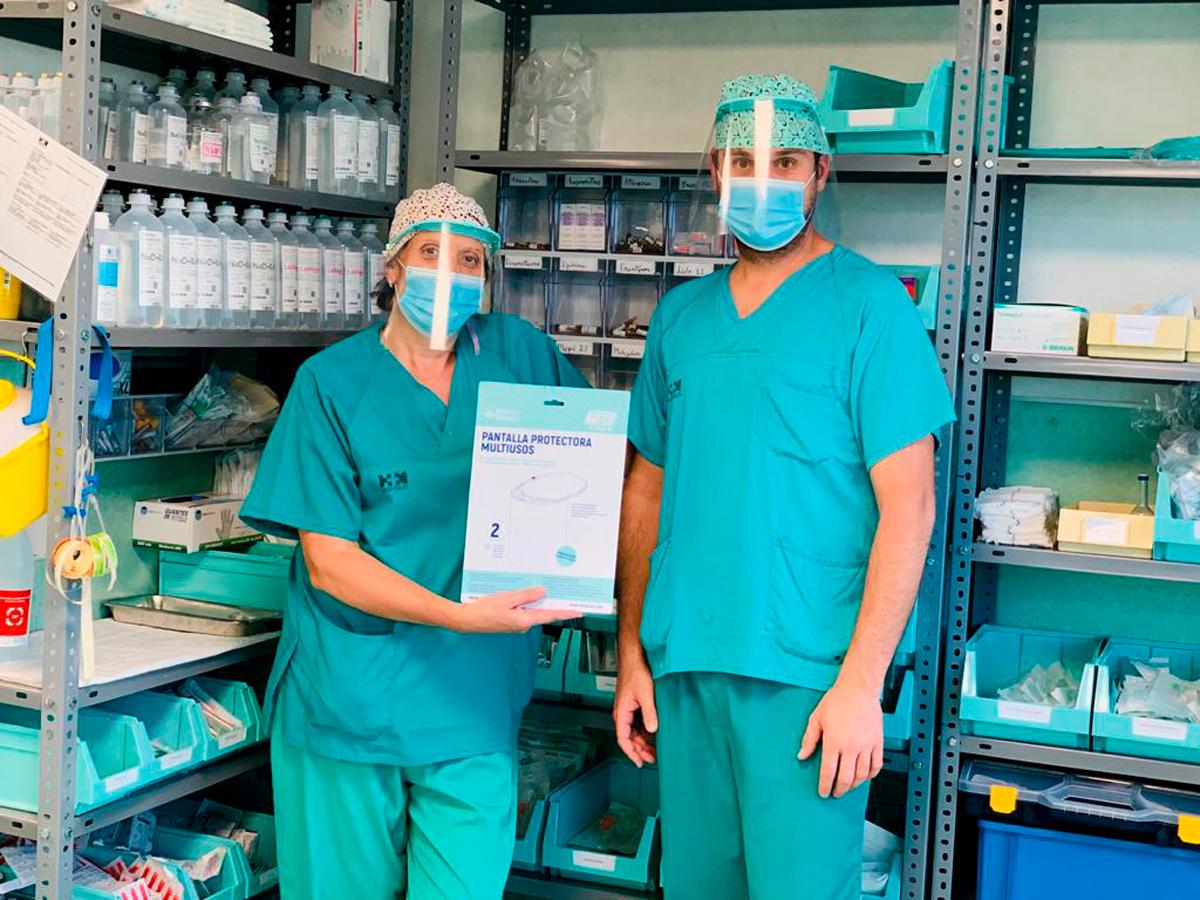 Pantallas Clinic Hospital Torrelodones HM - Pantalla protección multiusos