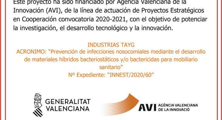 """Modelo Placa AVI 2 730x395 - TAYG Clinic Proyecto estratégico en cooperación """"MOBACT"""" financiado por AVI"""